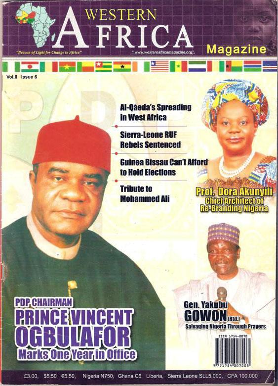 Westen Africa Mag. Vol. 11, 8th Edition