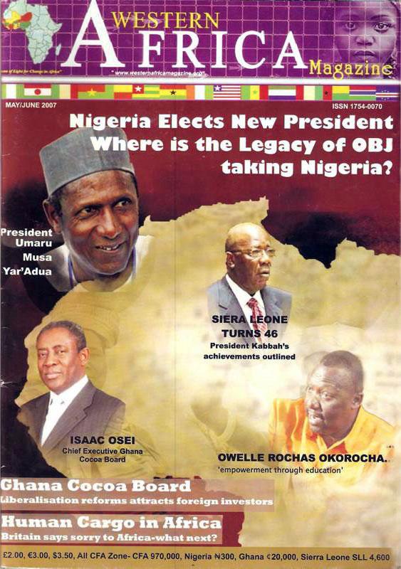 Westen Africa Mag. Vol.11, 2nd Edition