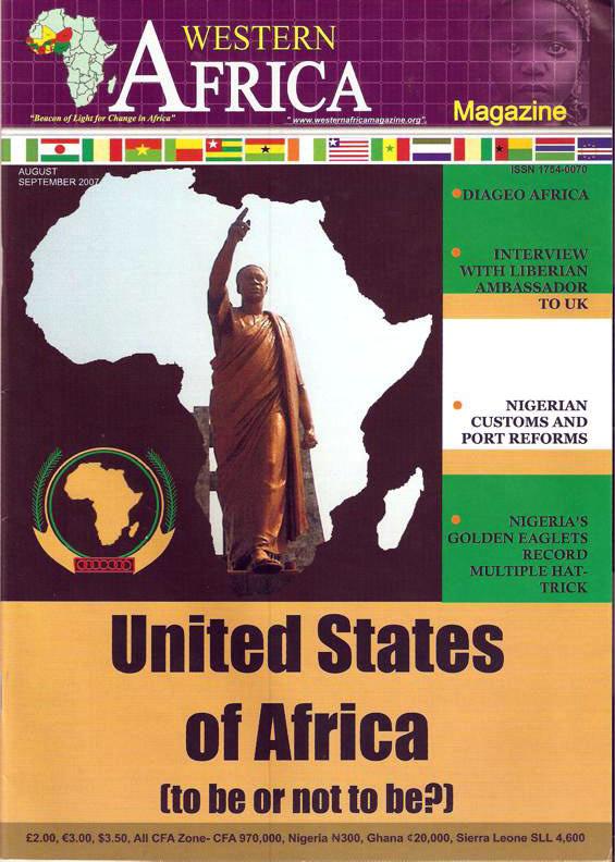 Westen Africa Mag. Vol.11, 3rd Edition