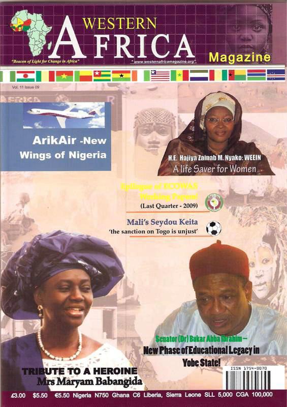Westen Africa Mag. Vol.11, 9th Edition